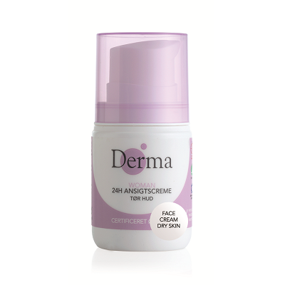 DERMA Krem do twarzy 24h cera sucha Eco Woman (50ml)
