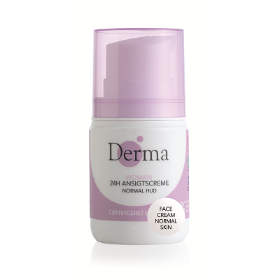 DERMA Krem do twarzy 24h cera normalna Eco Woman (50ml)