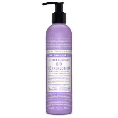 DR.BRONNER'S Lotion do ciała lawenda kokos (240ml) - BIO