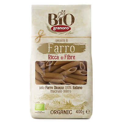 GRANORO Makaron penne rigate orkiszowy (400g) - BIO