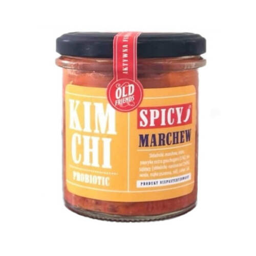 *OLD FRIENDS Kimchi  spicy marchew  (300g) (f)