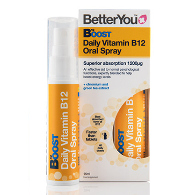 BETTER YOU Witamina B12 boost pure energy w sprayu (25ml)