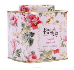 ENGLISH TEA SHOP Herbata English Breakfast sypana w ozdobnej puszce 85 g - BIO FAIR TRADE