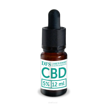 DIET FOOD Olejek CBD 5% (12ml)