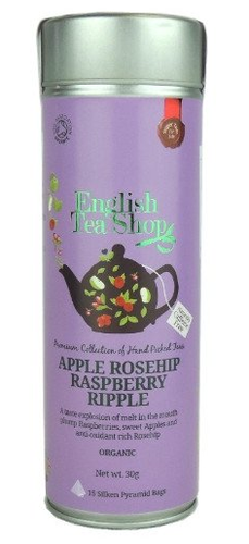 ENGLISH TEA SHOP Herbatka owocowa z jabłkiem i różą (15x2g) - BIO