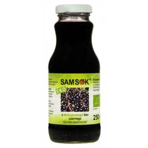 Sam Sok z bzu czarnego 250ml VIANDS - BIO