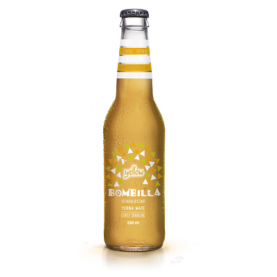 DRINK2ME Napój Bombilla YELLOW - Mirabelka (330ml)