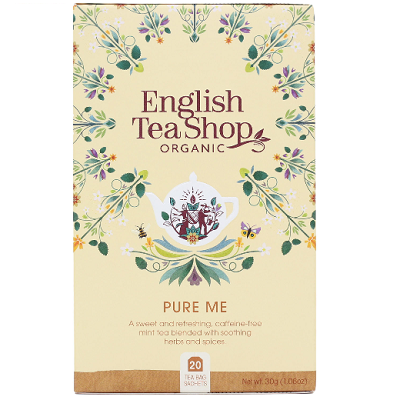 ENGLISH TEA SHOP Herbatka ziołowa Pure Me (20x1,5) (30g) - BIO