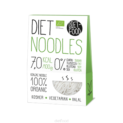 DIET-FOOD Makaron shirataki noodles (300g) - BIO