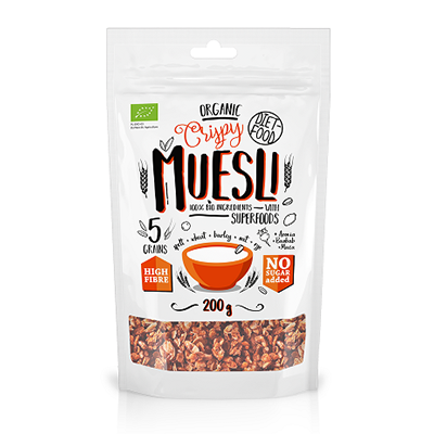 DIET FOOD Musli crunchy superfoods (200g) - BIO