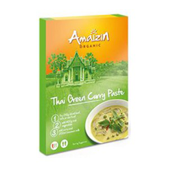 AMAIZIN Pasta curry thai green (80g) - BIO