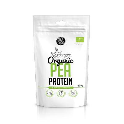 DIET-FOOD Proteina z groszku (200g) - BIO