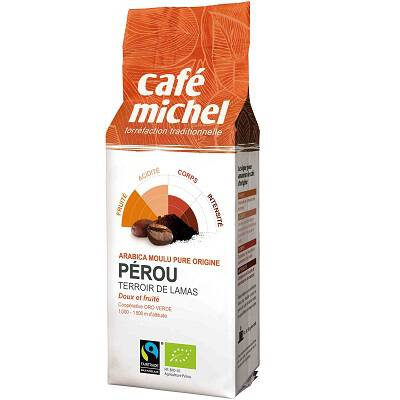 Kawa mielona Peru 250g CAFE MICHEL - BIO FAIR TRADE