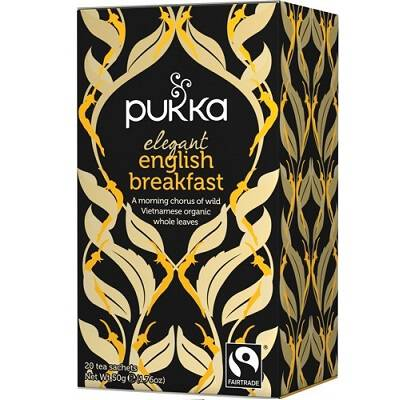 Herbata elegant english breakfast 20x2,5g PUKKA - BIO