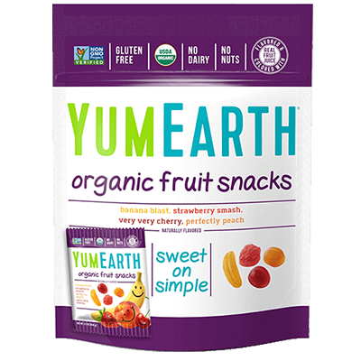 YUMEARTH Fruit snacki (50g) - BIO