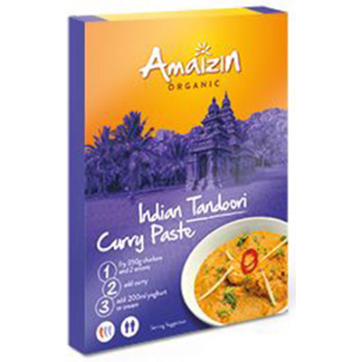 AMAIZIN Pasta curry indian tandoori 80g - BIO