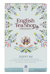ENGLISH TEA SHOP Herbatka ziołowa Sleepy Me (20x1,5g) - BIO