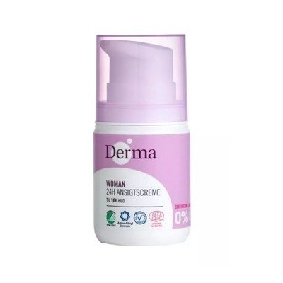 DERMA Krem do twarzy - cera sucha (50ml) - BIO