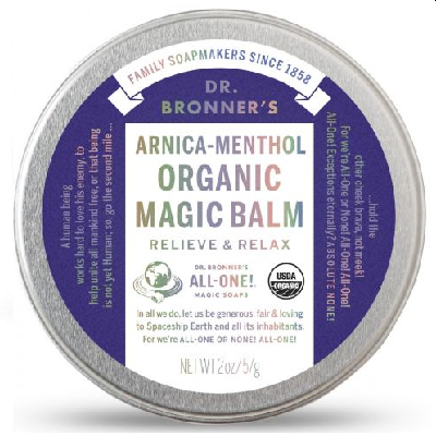 DR.BRONNER'S Balsam do ciała Magic Balm arnica-menthol (60g)