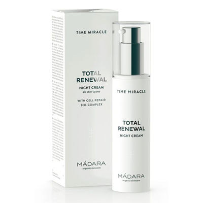 MADARA Krem na noc Time Miracle Total Renewal 50ml - BIO