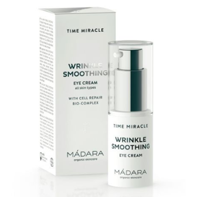 MADARA Krem pod oczy Time Miracle Wrinkle Smoothing 15ml - BIO